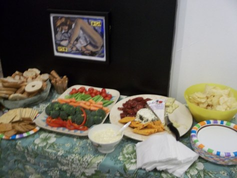 Table of Snacks