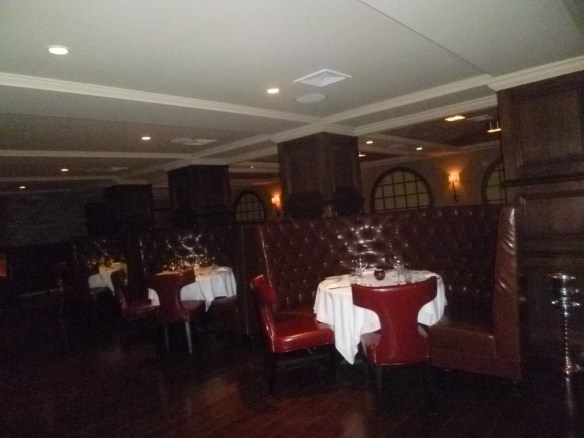 Desmond's Bar Area Seating