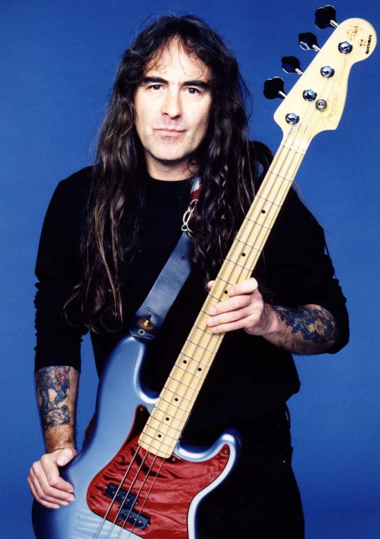 Steve Harris of Iron Maiden