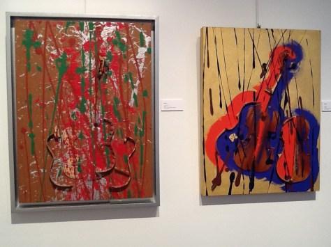 Arman Sliced Violins