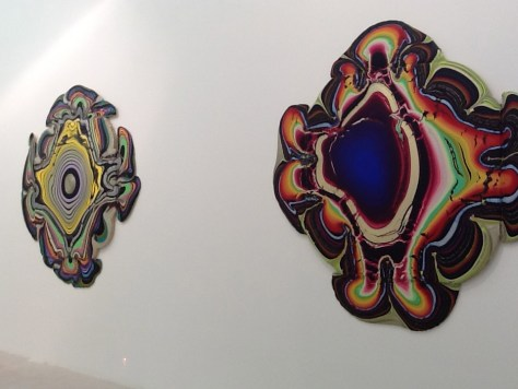 Holton Rower Pour Paintings 2