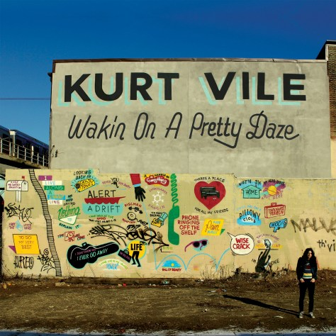 Kurt Vile Wakin On A Pretty Daze CD Cover