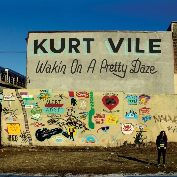 Kurt Vile Wakin On A Pretty Daze CD Cover