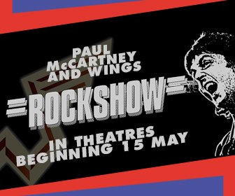 Paul McCartney Rock Show Poster