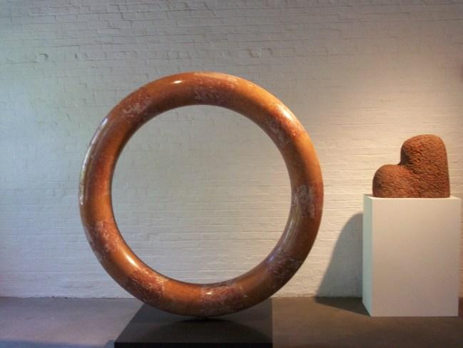 Noguchi Stone Round Stone Sculpture
