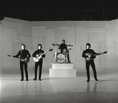 Help Beatles Perform B&W