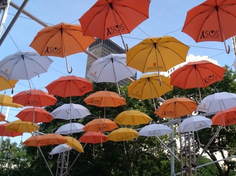 BMF Media Umbrellas Installation4