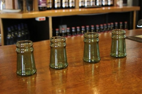 Bottleneck Shot Glasses