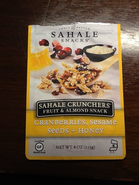 Sahale Crunchers Fruit and Almond Snack