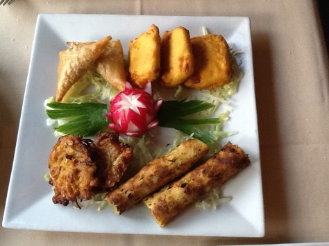 Assorted Indian Appetizers