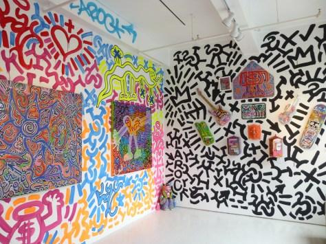 La2's Keith Hering Graffiti Room