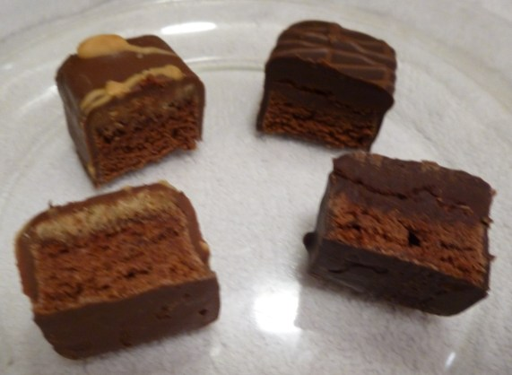 Weight Watchers Triple Chocolate Brownie Bliss and PB Sliced