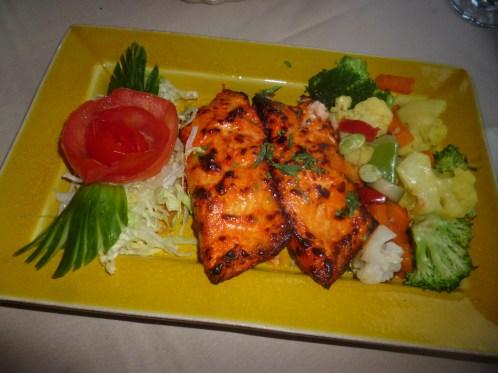 Tandoori Salmon