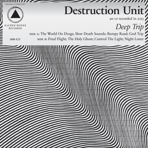 Destruction Unit Deep Trip Cover Art