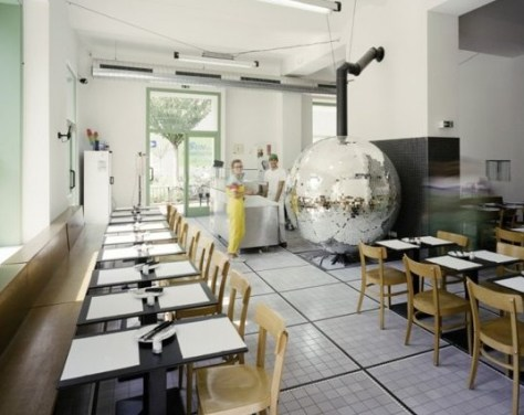 Disco Ball Pizza Oven 2
