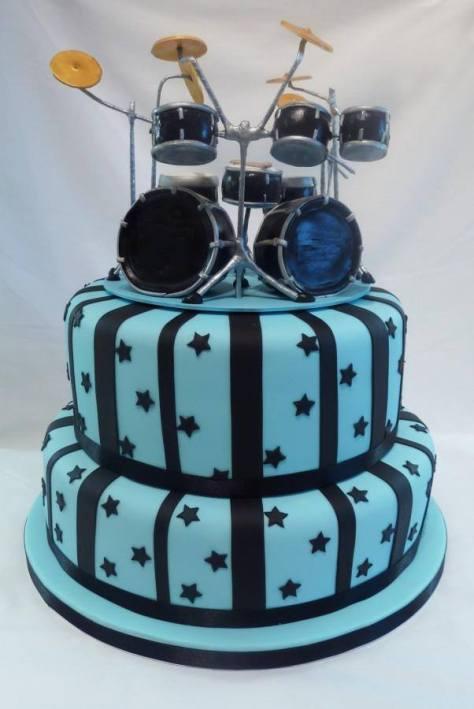 Drum Kit Cake Topper