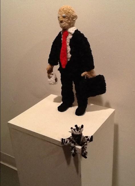 Art Dealer and Action Figure