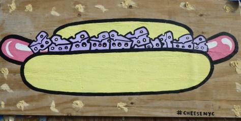 Cheese Dog Street Art