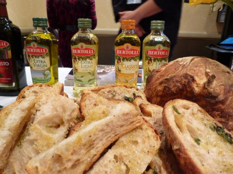 Bertoli Olive Oil Display