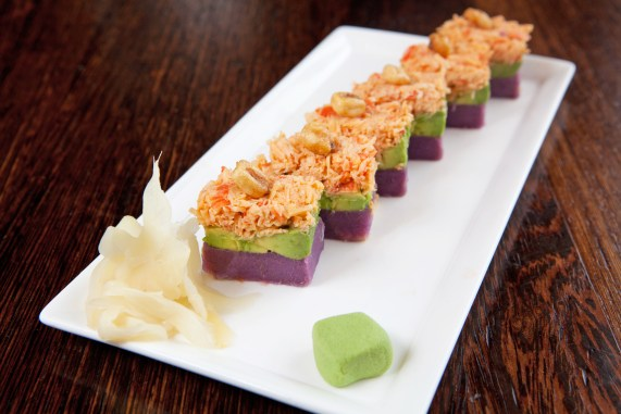 Spicy Crab Potato Sushi