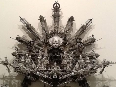 Kuksi Feathered Sculpture