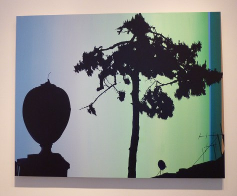 Glen Rubsamen Polygala Street Lamp and Tree