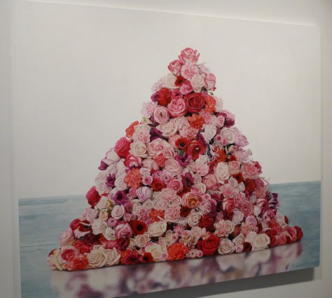 Marc Dennis Painting Rose Pile
