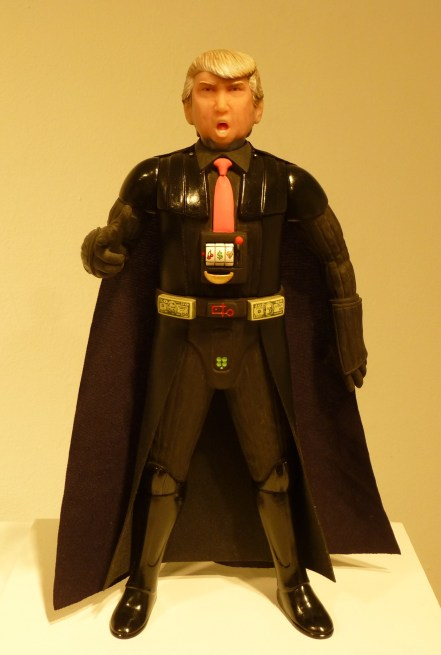 Donald Trump as Darth Vadar
