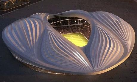 Zaha Hadid Vagina Stadium