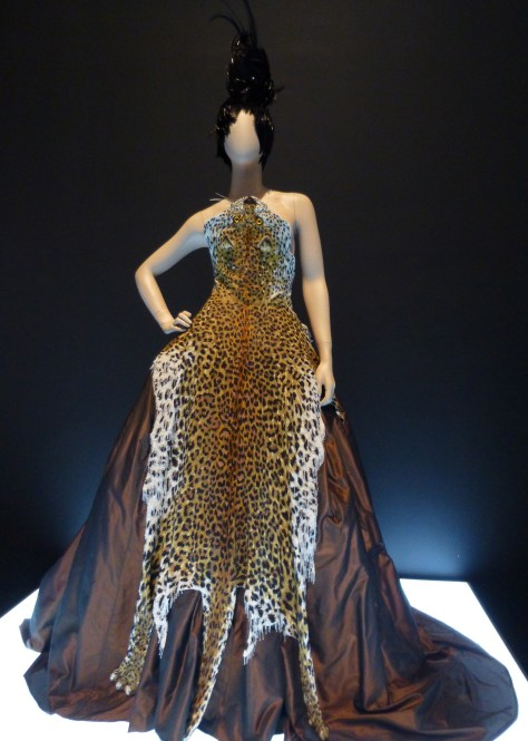 Leopard Pelt Gown