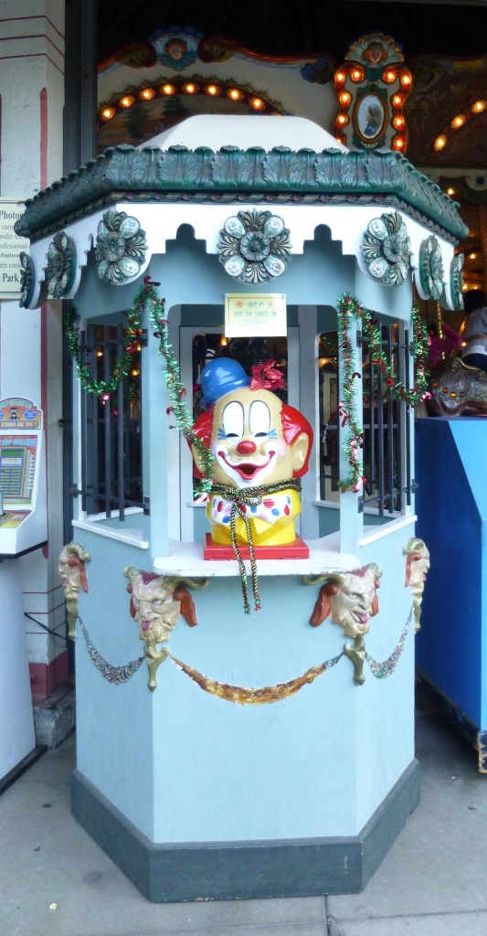 Griffith Park Merry Go Round Clown Booth
