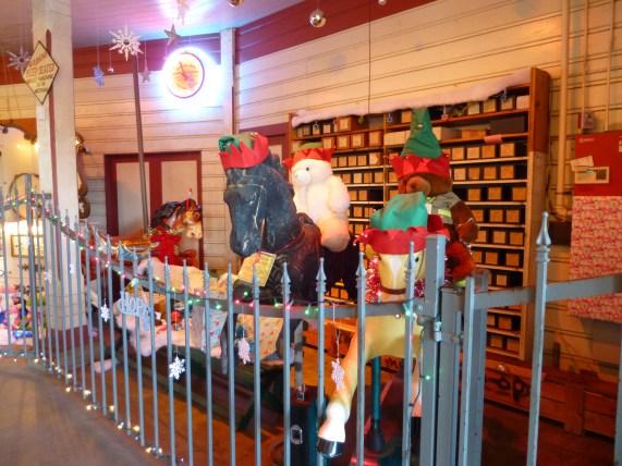 Griffith Park Merry Go Round Xmas Display