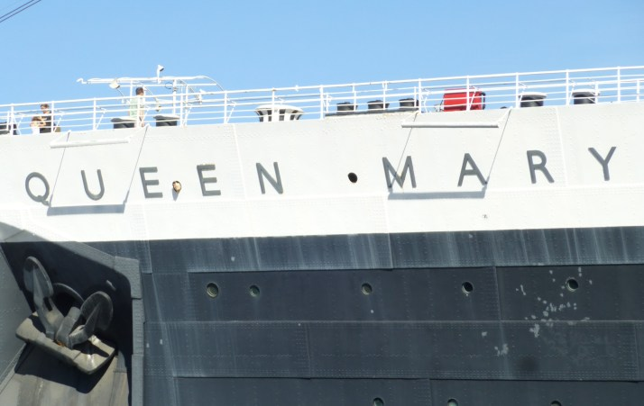 Queen Mary Hull Exterior