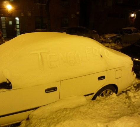 Tengo Frio Snow Car