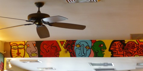 Ceiling Fan and Mural