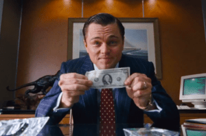 Wolf of Wall Street Dollar