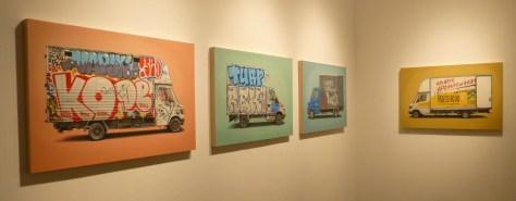 Kevin Cyr 4 Paintings