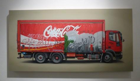 Kevin Cyr Coca Cola Delivery Truck