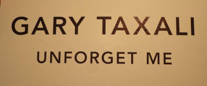 Gary Taxali Unforget Me Signage