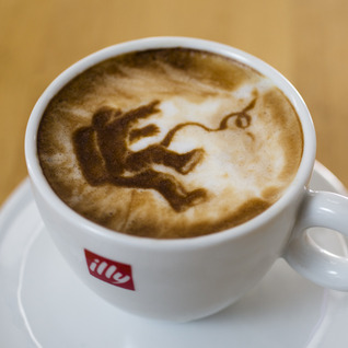 Gravity In Latte Foam