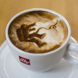 Gravity In Latte Foam