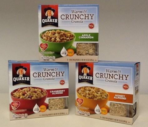 Quaker Oats Packaging