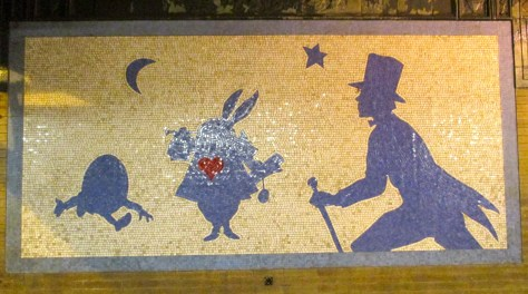Alice in Wonderland Mosaic