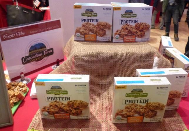 Cascadian Farm Organic Protein Bars