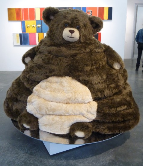 Stuffed Honey Bear Beehive
