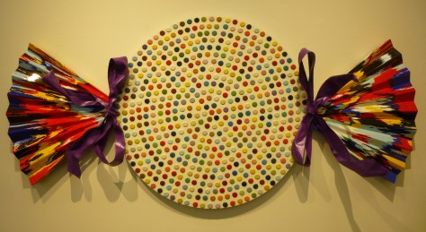 Hirst Spot Painting Wrapped Candy