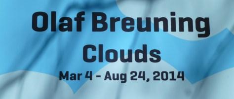 Olaf Breuning Clouds Signage