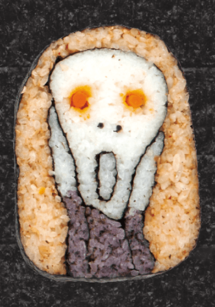 Scream Sushi Roll