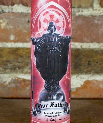 Sket One Our Father Vader Red Candle