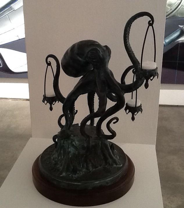 Octopus Sculpture By Scott Musgrove